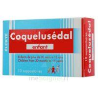 COQUELUSEDAL ENFANTS, suppositoire à TOULENNE