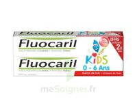 Fluocaril Kids Gel dentifrice Fraise 0/6ans 2*50ml à TOULENNE