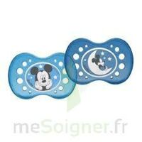 SUCETTE DODIE ANATOMIQUE SILICONE mickey 18 MOIS + x 2 à TOULENNE
