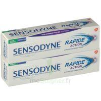 Sensodyne Rapide Pâte dentifrice dents sensibles 2*75ml à TOULENNE