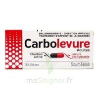 CARBOLEVURE Gélules adulte Plq/30 à TOULENNE