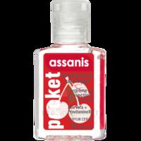 Assanis Pocket Parfumés Gel antibactérien mains cerise 20ml à TOULENNE