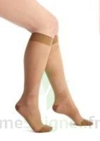 Thuasne Venoflex Secret 2 Chaussette femme beige doré T1L à TOULENNE