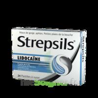 Strepsils lidocaïne Pastilles Plq/24 à TOULENNE