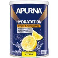 Apurna Poudre pour boisson hydratation Citron 500g à TOULENNE