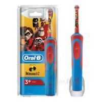 Oral B Incredibles 2 Brosse dents électrique enfant 3ans et+ à TOULENNE