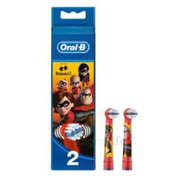 Oral B Incredibles 2 Brossette kids Blister/2 à TOULENNE