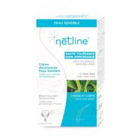 Netline Crème visage/corps décolorante peau sensible 30+30ml à TOULENNE