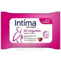 Intima Gyn'Expert Lingettes Cranberry Paquet/30 à TOULENNE