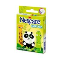 Nexcare Sensitive Soft Happy Kids Pansements microporeux Animaux 2 tailles B/20 à TOULENNE