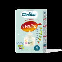 Modilac Céréales Farine 6 Fruits à partir de 8 mois B/300g à TOULENNE