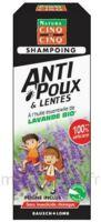 Cinq sur Cinq Natura Shampooing anti-poux lentes lavande 100ml à TOULENNE
