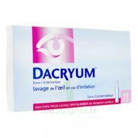 DACRYUM S p lav opht en récipient unidose 10Unid/5ml à TOULENNE