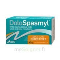 DOLOSPASMYL 60 mg/300 mg Caps molle Plq PVC/Alu/40 à TOULENNE