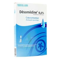 DESOMEDINE 0,1 % Collyre sol 10Fl/0,6ml à TOULENNE